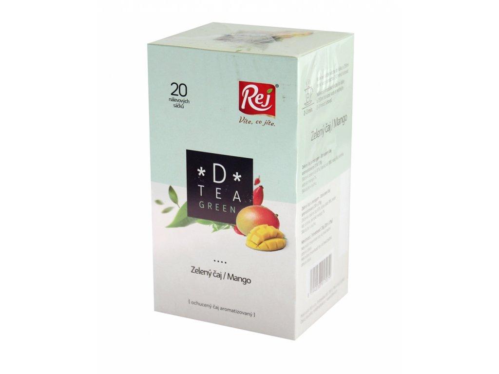 REJ Čaj D-tea green 20x1,75g