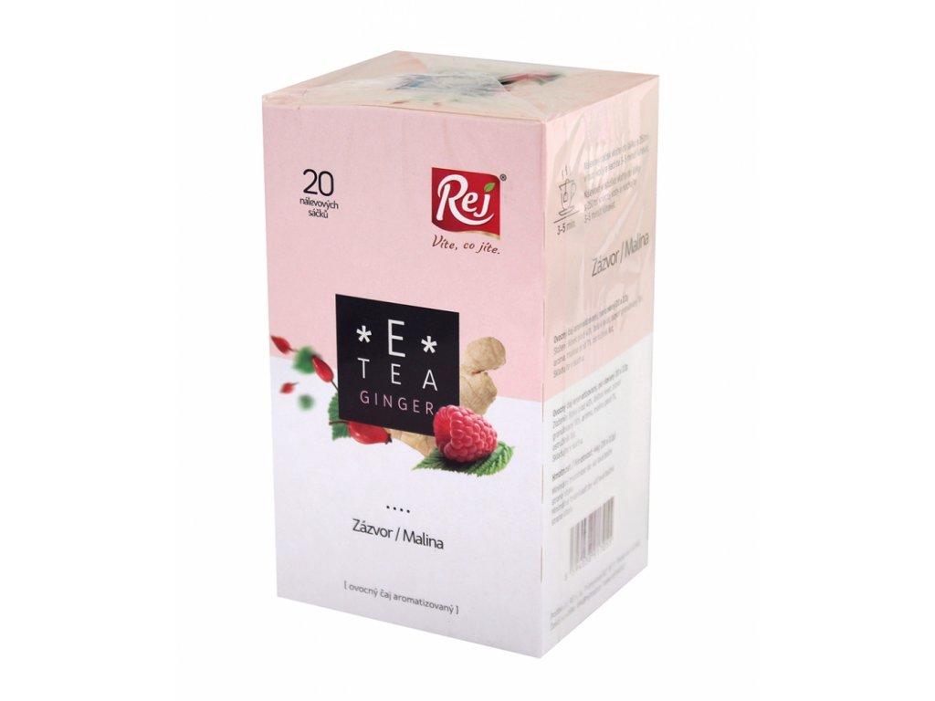REJ Čaj E-tea ginger 20x2,2g
