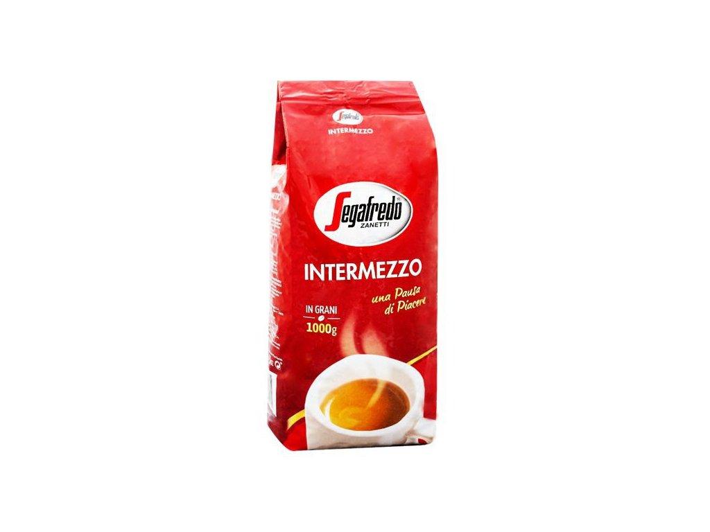segafredo intermezzo 1kg zrnkova kava original