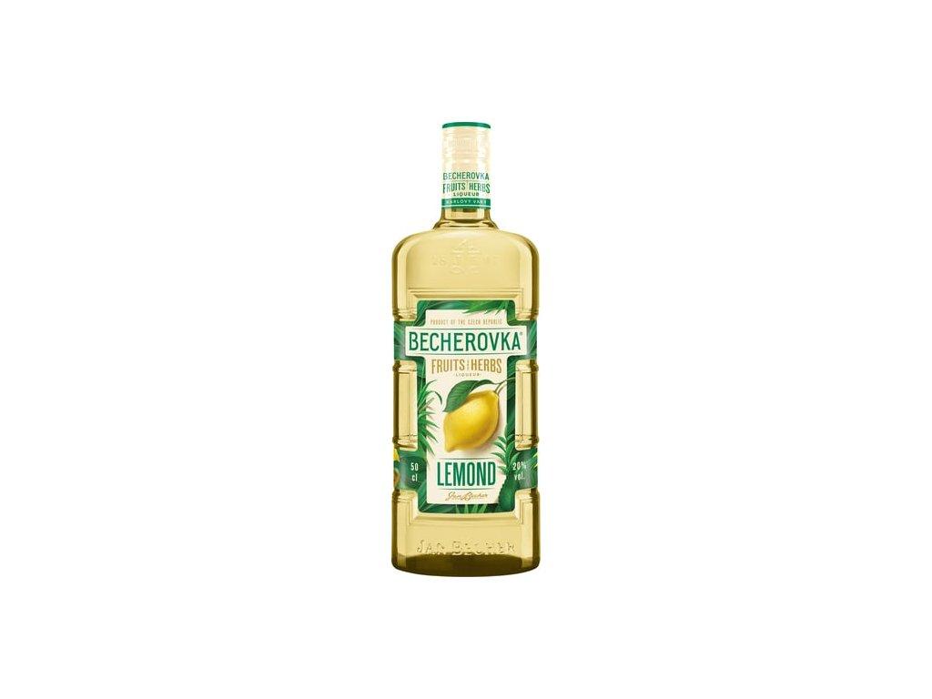 Becherovka Lemond bylinný likér 0,5 l