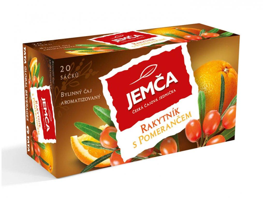 Jemča Rakytník s pomerančem bylinný čaj 20 sáčků