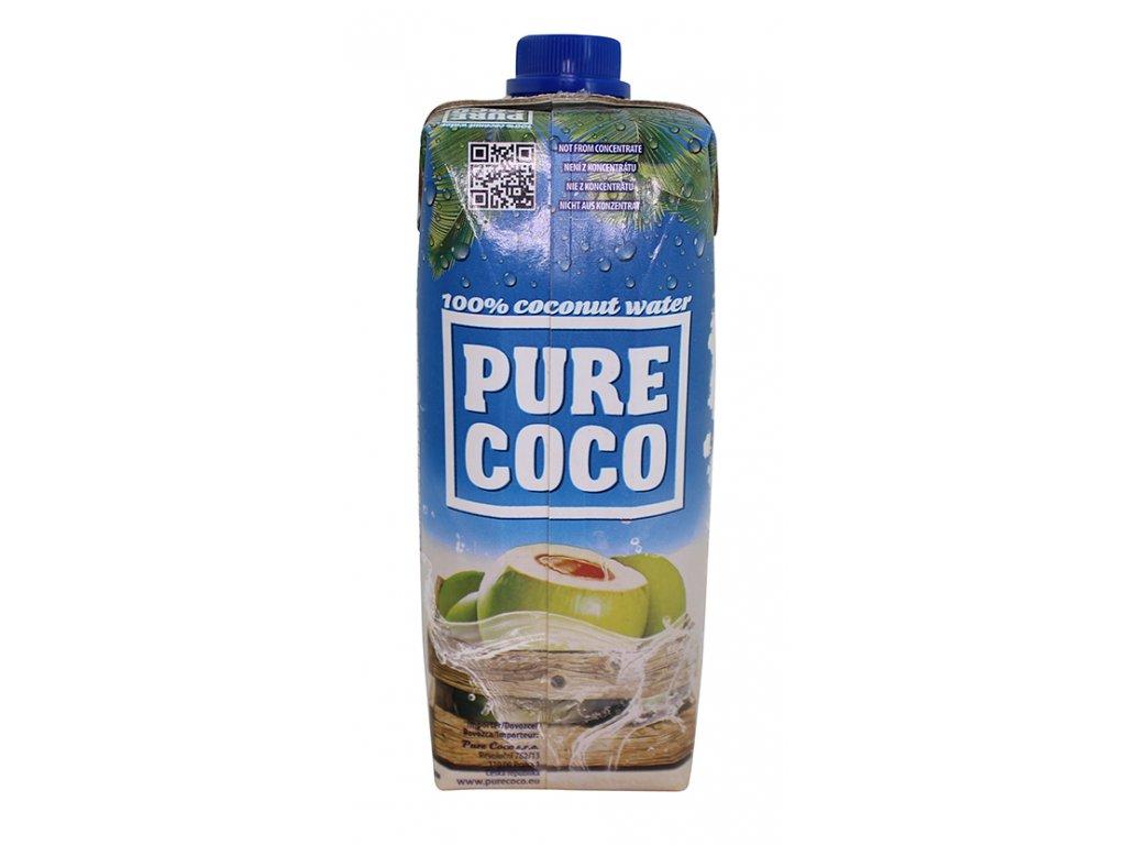 KOKOSOVÁ VODA 100% 500 ml Pure Coco