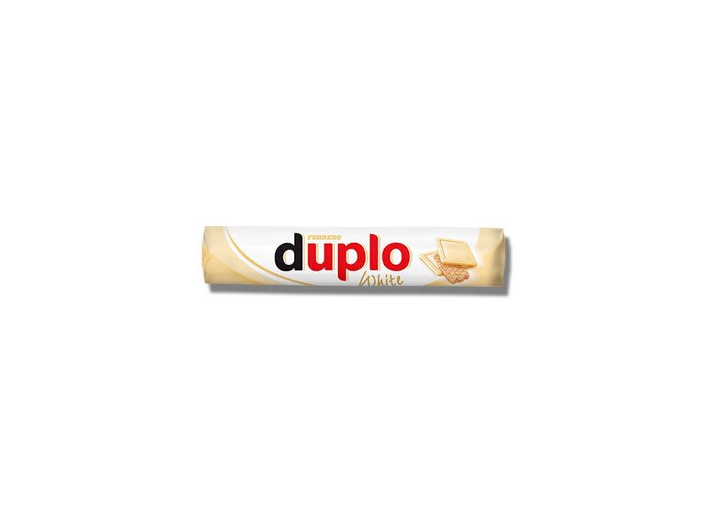 VÝPRODEJ / Duplo Oplatka s polevou z bílé čokolády a náplní 18,2 g