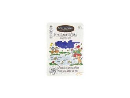 Dětská šunka Svačinka nejvyšší jakosti 100 g obsah masa 93% soli 1,9%