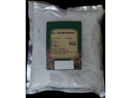 Sůl Hrubozrnná 500 g