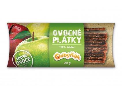 Ovocné plátky jablko 20 g