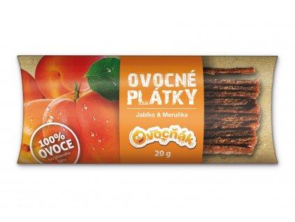 Ovocné plátky meruňka 20 g