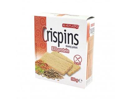 Crispins plátek proteinový 100g Extrudo
