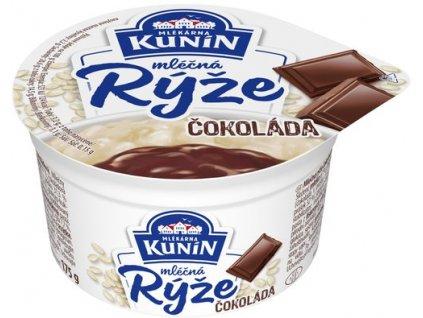 Kunín Mléčná rýže čokoláda 175 g
