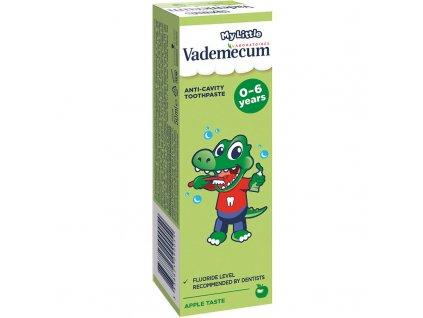 Vademecum dětská zubní pasta 0-6 let jablko 50 ml