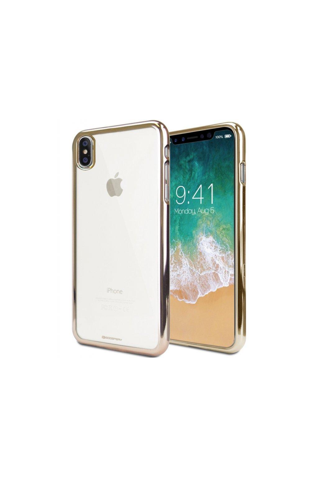 16607 ochranny kryt pro iphone xs max mercury ring2 gold
