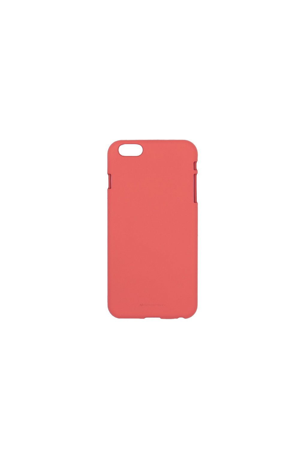 2141 ochrany kryt pro iphone 6 6s plus mercury soft feeling red