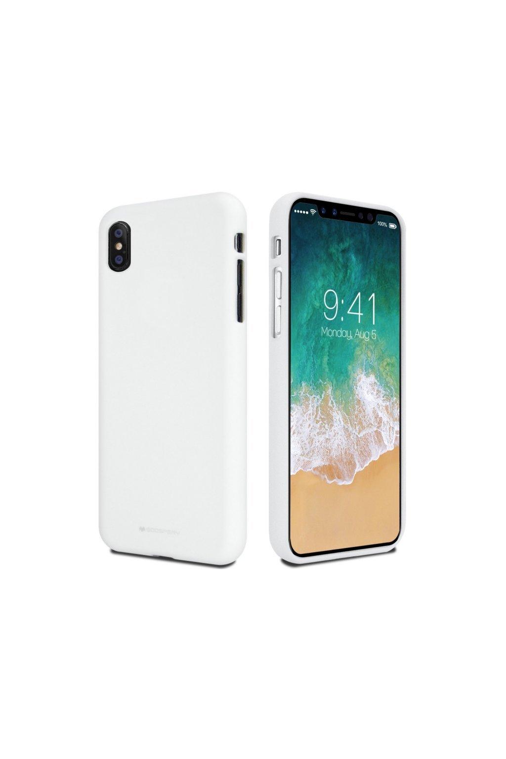 2144 mercury siliconovy kryt iphone x xs white