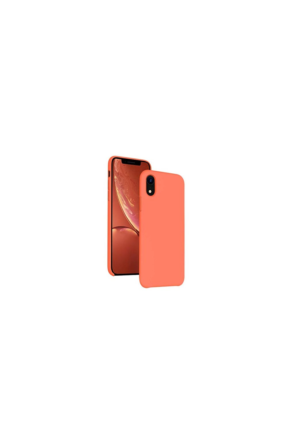 2195 silikonovy kryt pro iphone xr cihlovy