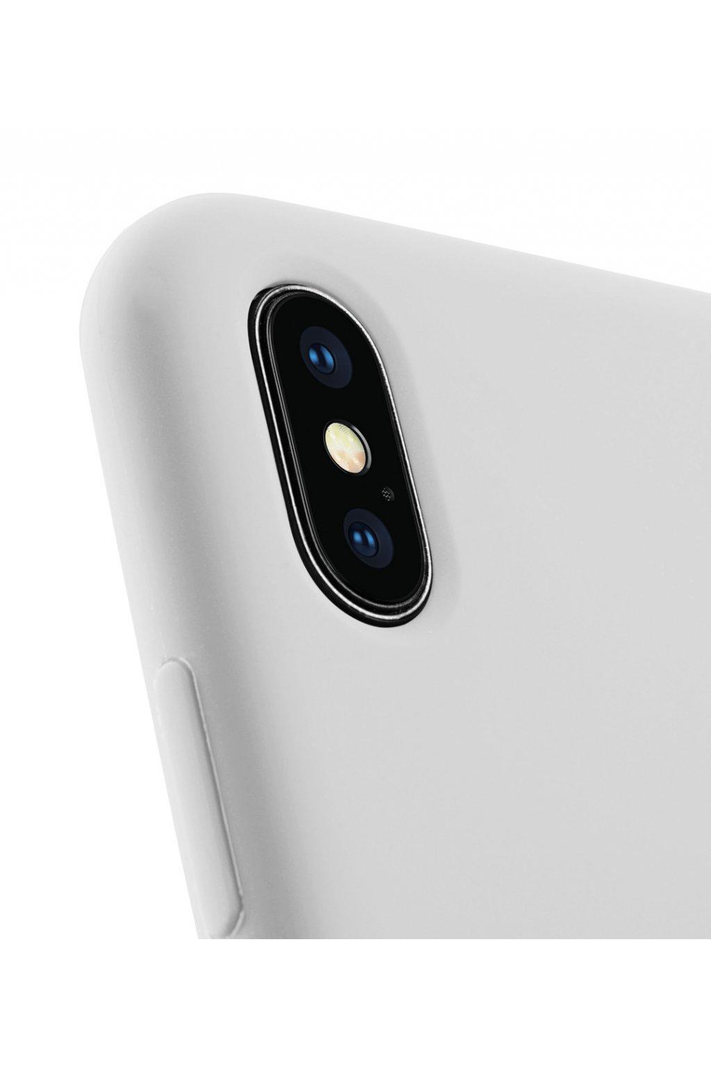 2213 silikonovy kryt pro iphone xs max sedy