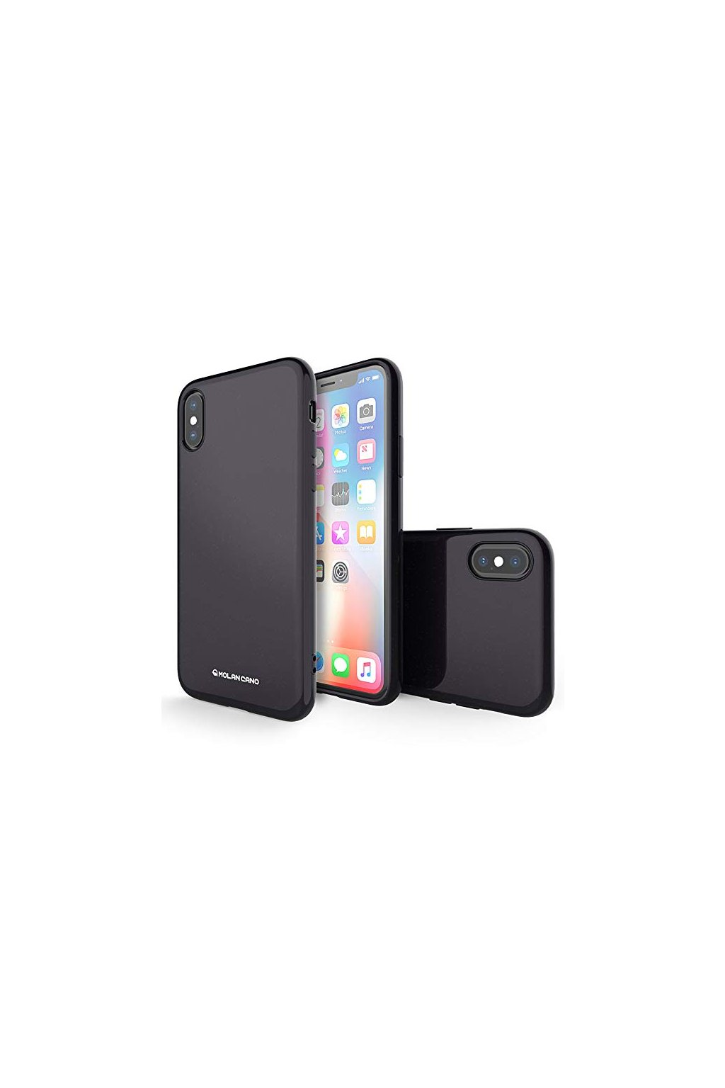 2234 molan cano jelly case pro iphone x xs cerny