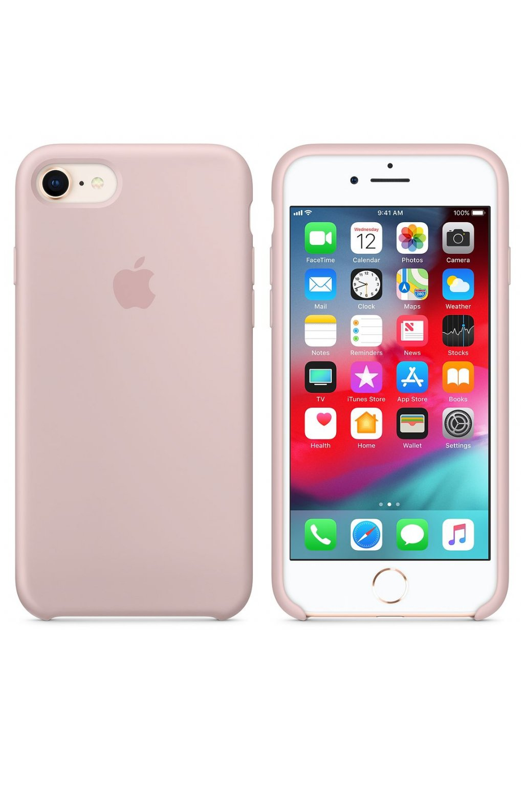 2501 iphone 7 originalni silikonovy apple kryt pink sand