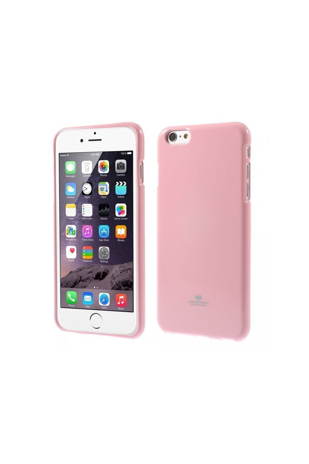 2531 goospery jelly case pro iphone 6 6s pink