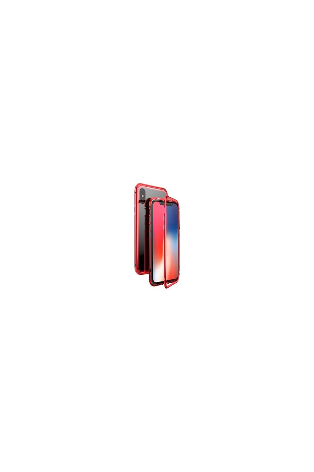 2555 luphie magneto hard case iphone x xs red