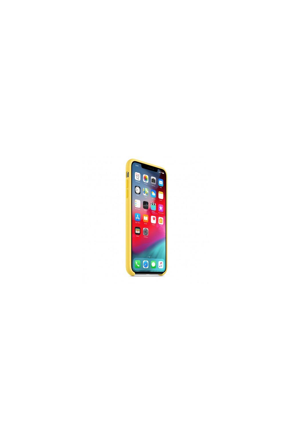 2954 iphone xs max originalni apple kryt canary yellow