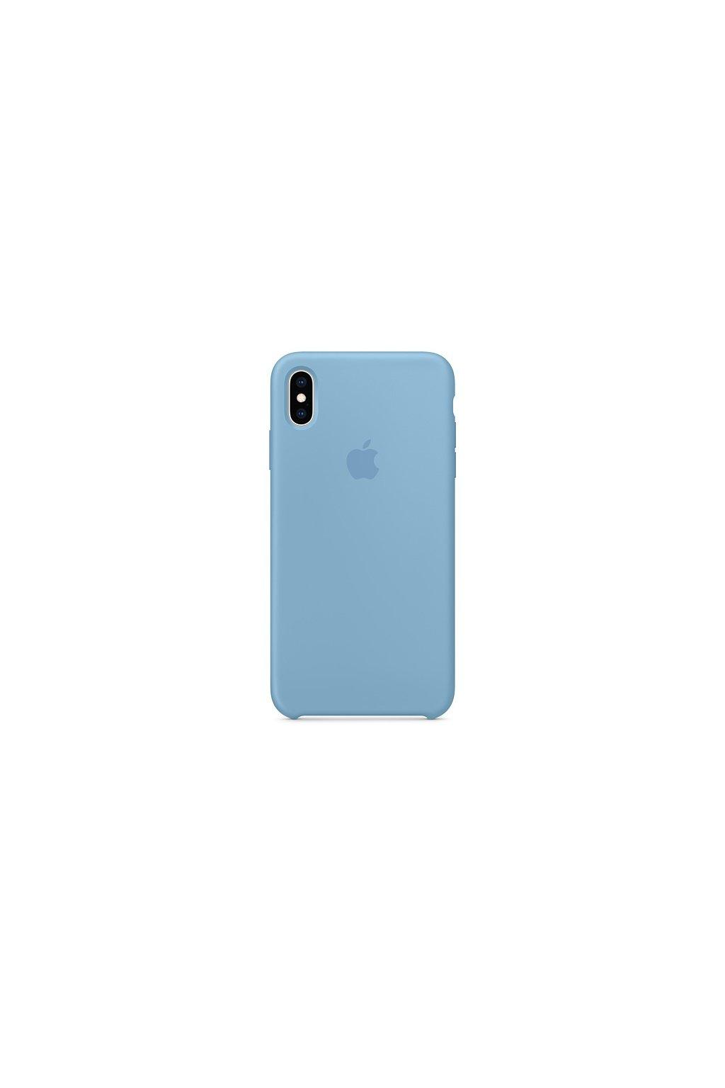 2969 iphone xs originalni silikonovy apple kryt cornflower