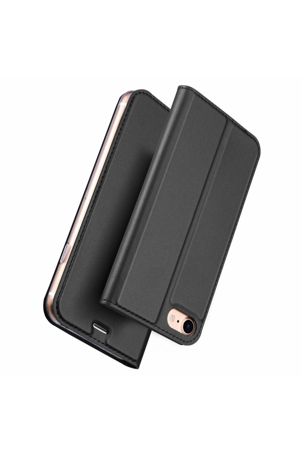 DUX DUCIS Magnetické Skin Book Pouzdro pro iPhone 7/8  Plus Gray