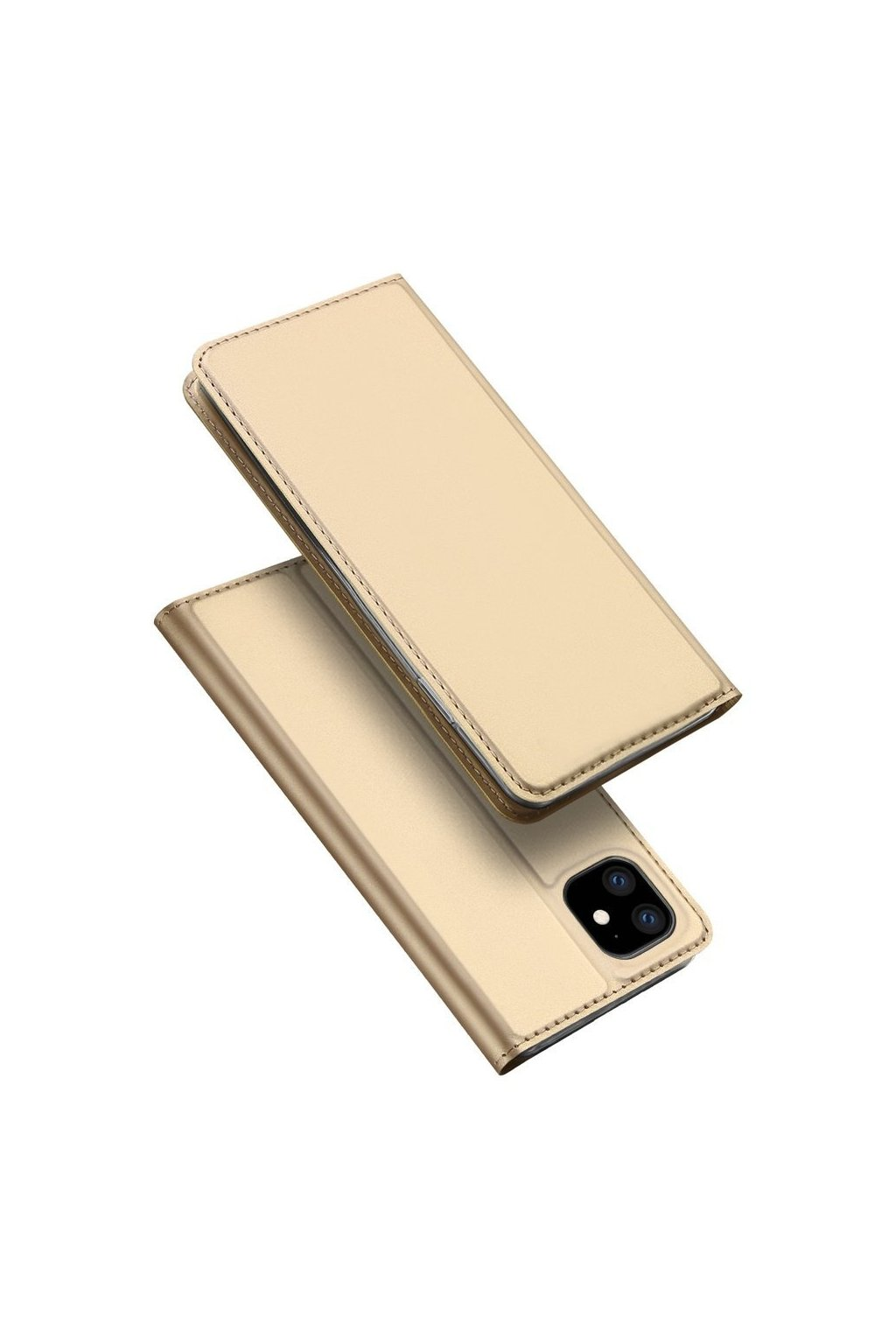 DUX DUCIS Magnetické Skin Book Phone 11 Pro Max Gold