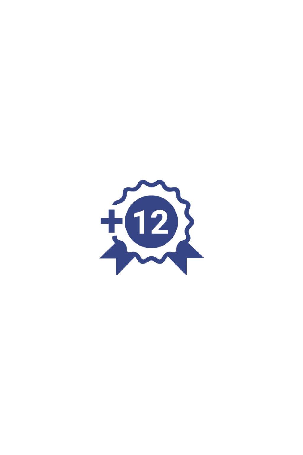 12 mes zaruka