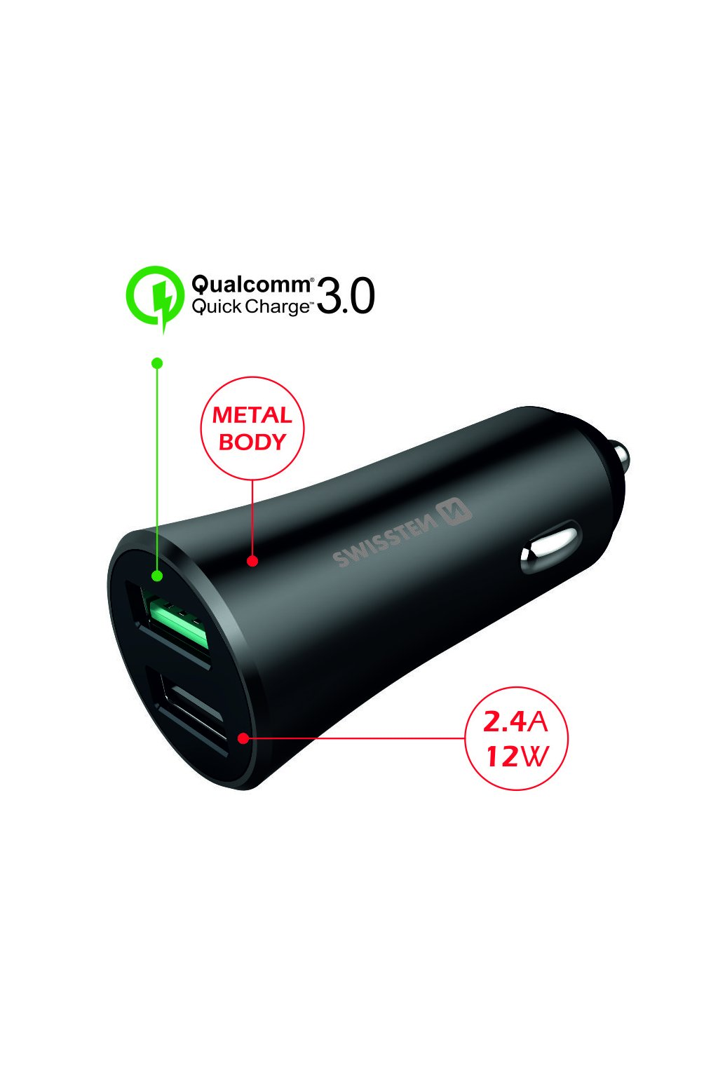 auto dual quickcharge 2