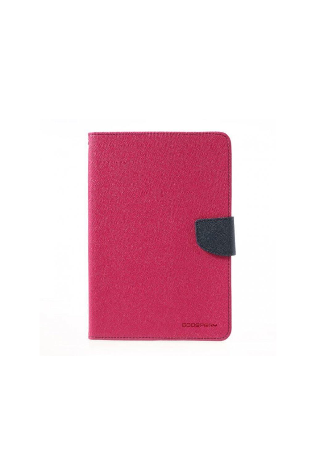 9279 1 pouzdro kryt pro apple ipad mini 4 mercury fancy diary hotpink navy