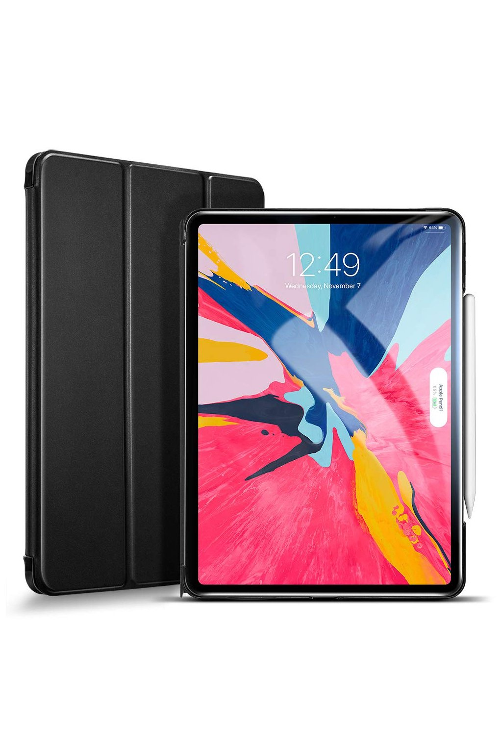 iPad Pro 12.9 2018 Yippee Trifold Smart Case black 1