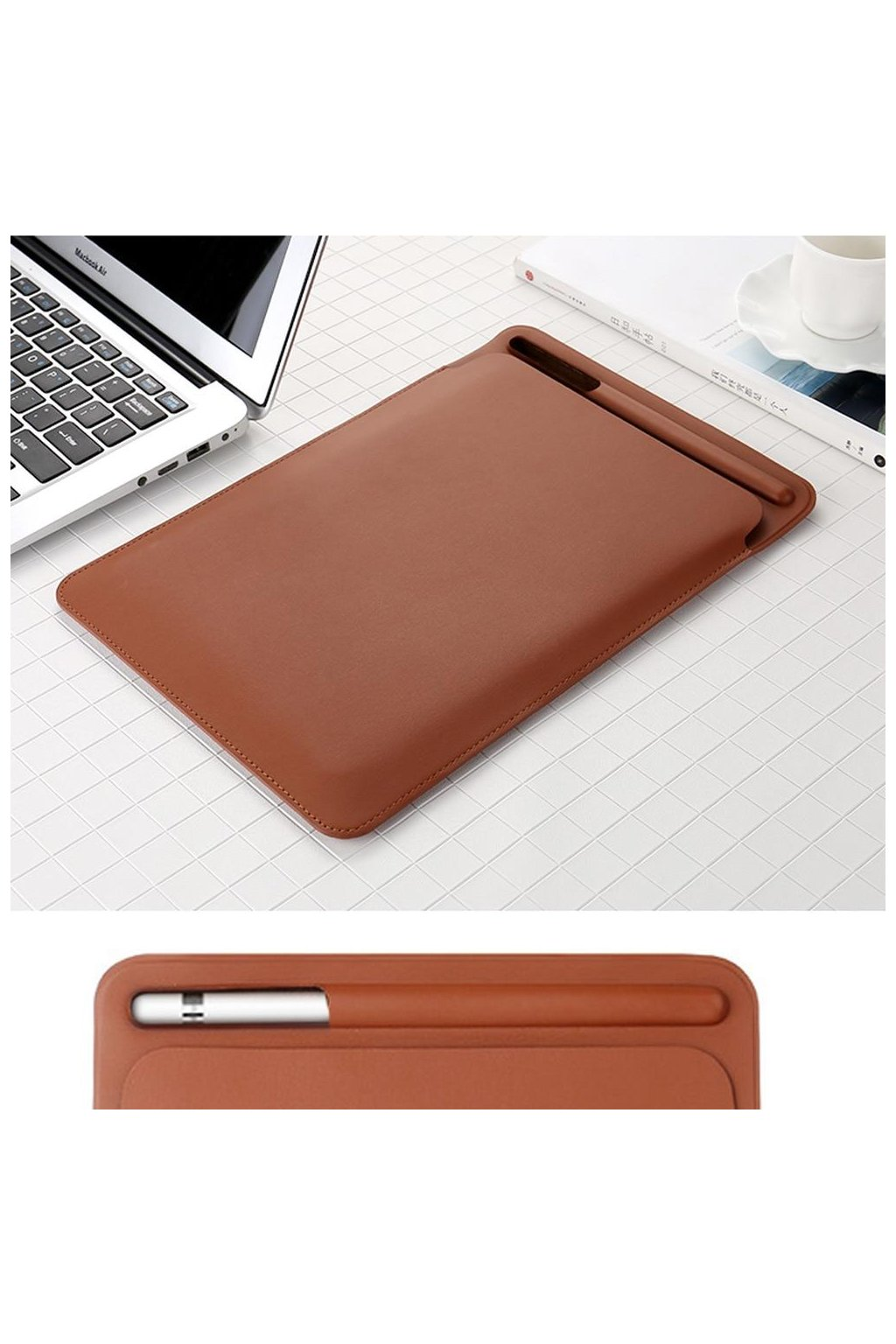 Premium PU Imitation leather Sleeve Case for iPad Pro 12 9 2017 Pouch Bag Cover with