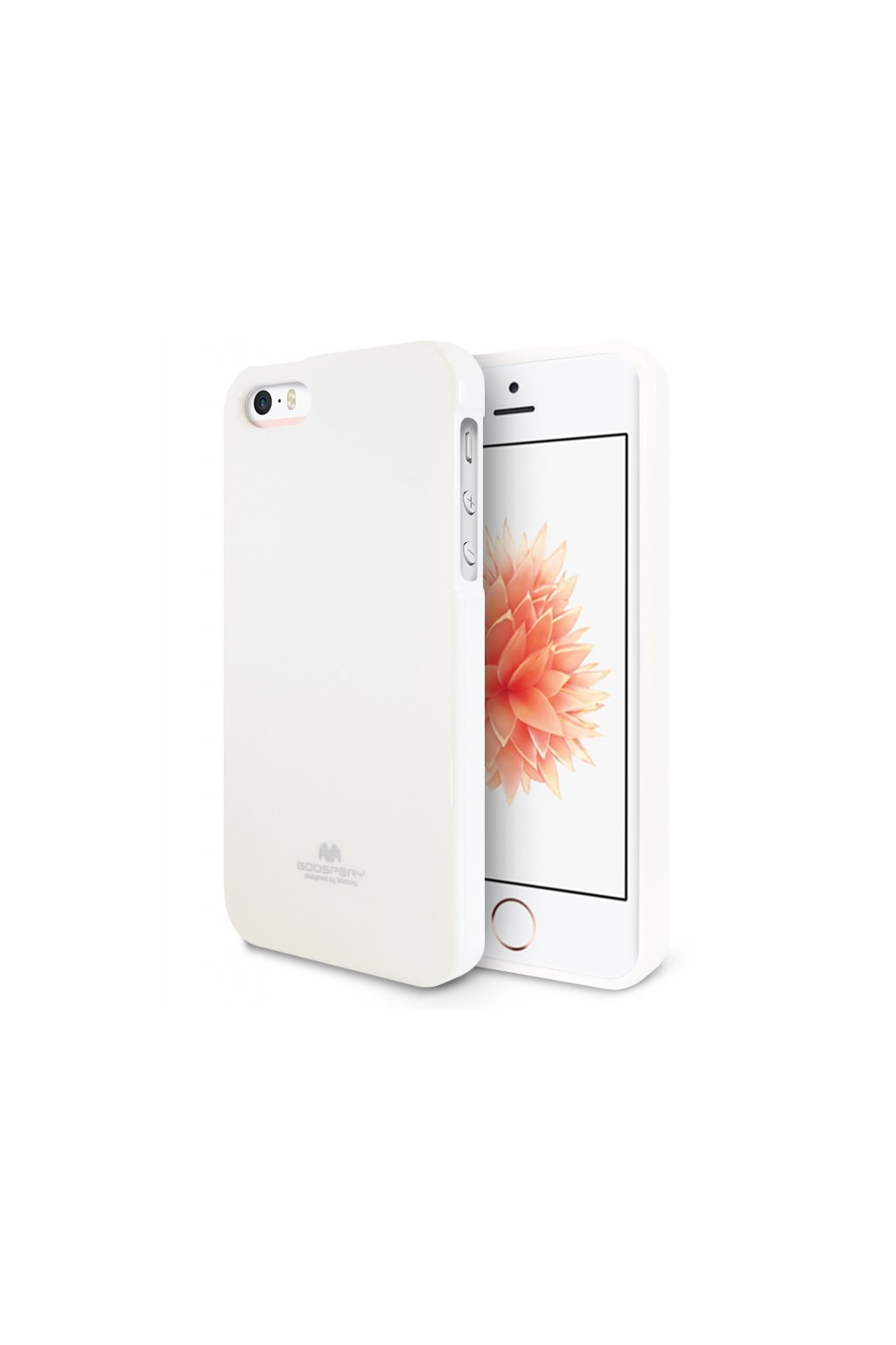 6884 pouzdro kryt pro apple iphone 5 5s se mercury jelly case white