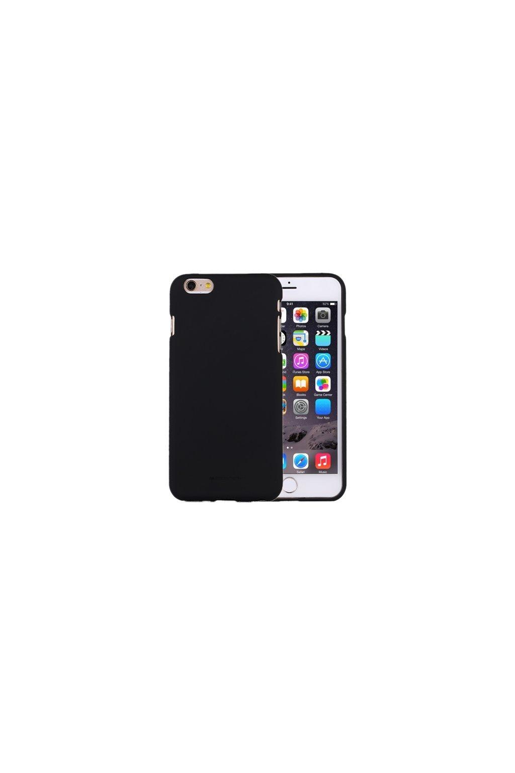 1787 ochrany kryt pro iphone 6 6s plus mercury soft feeling black