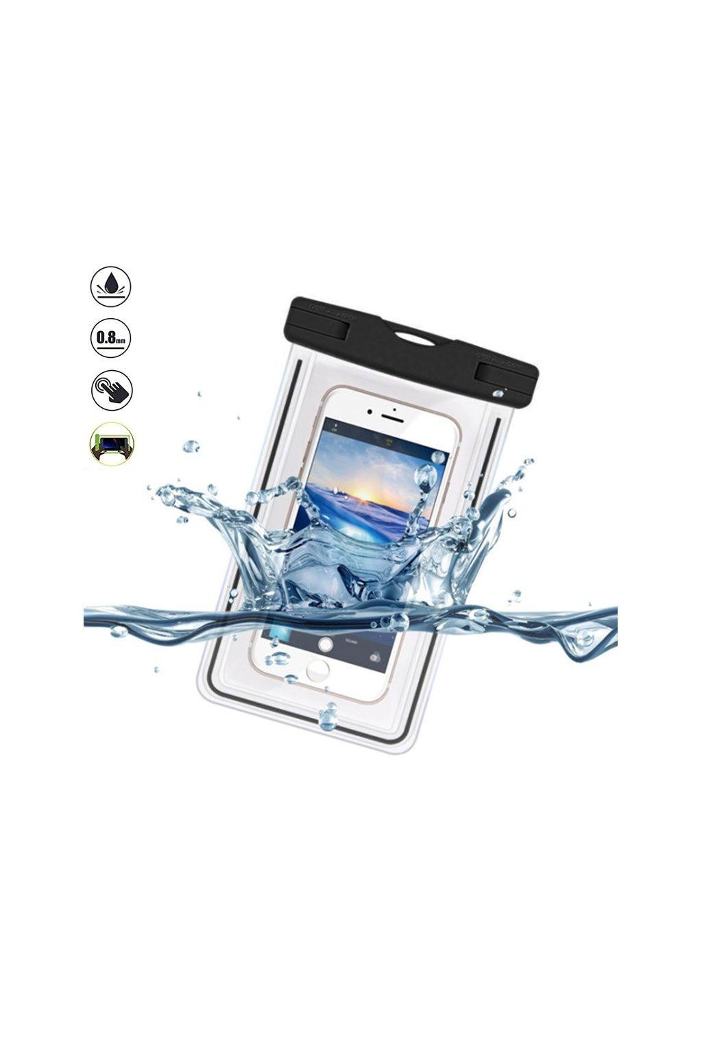 1811 plazove vodedolne pouzdro na mobil devia waterproof bag