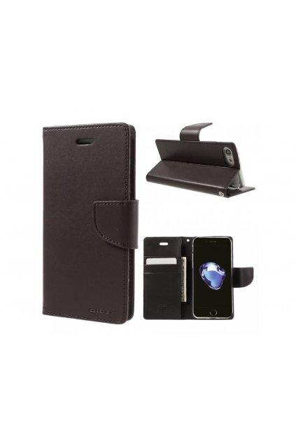 2492 bravo diary kozeny kryt pro iphone 7 brown