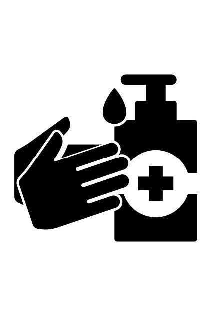 hand gel icon