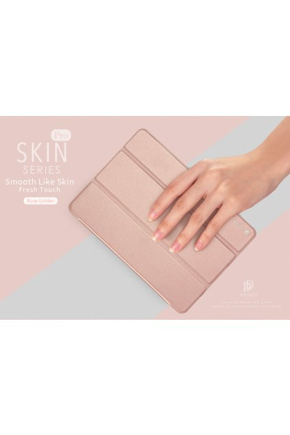 1469 duxducis domo book obal ipad 9 7 2017 2018 rose gold