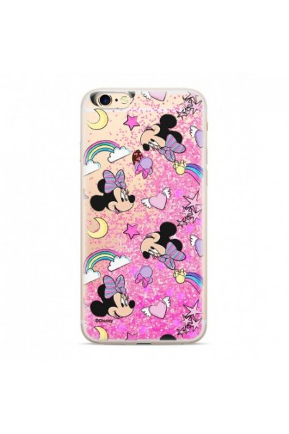 etui nakladka plynny brokat disney minnie 031 iphone 6 6s rozowy