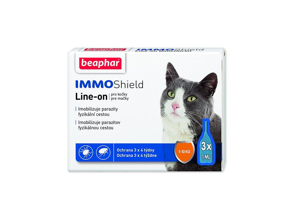 BEAPHAR Line-on IMMO Shield pro kočky 3 ml