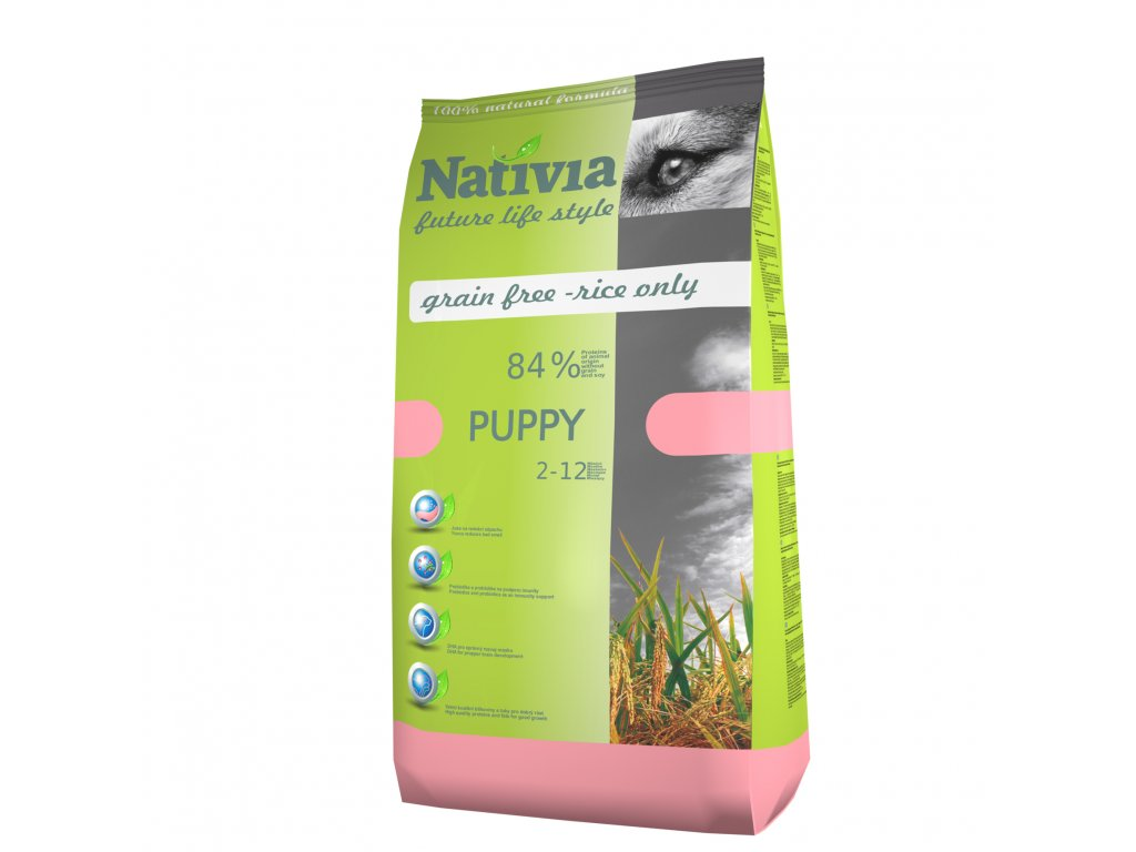 Nativia Puppy Chicken&Rice
