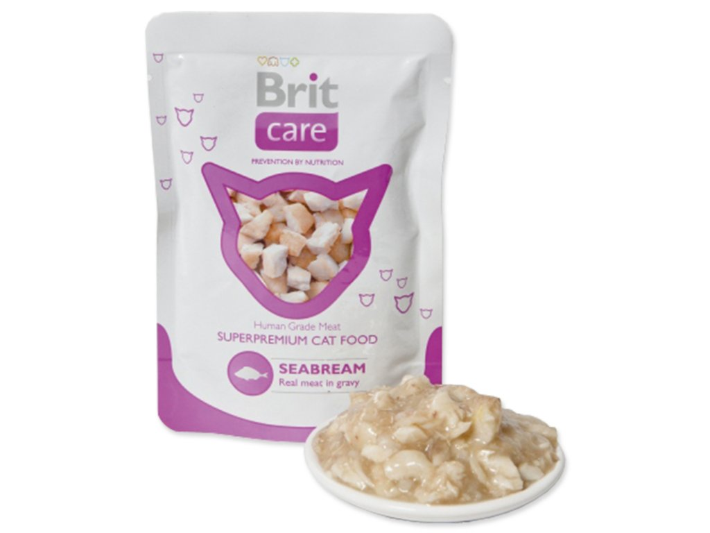 Kapsička BRIT Care Cat Seabream 80 g