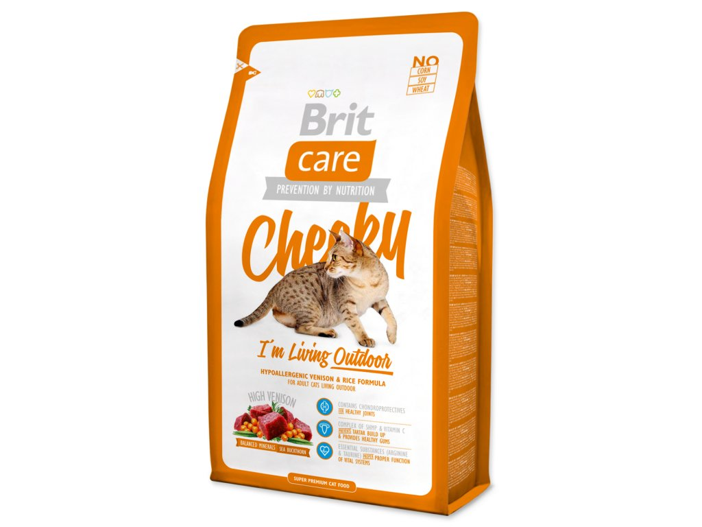 BRIT Care Cat Cheeky I`m Living Outdoor