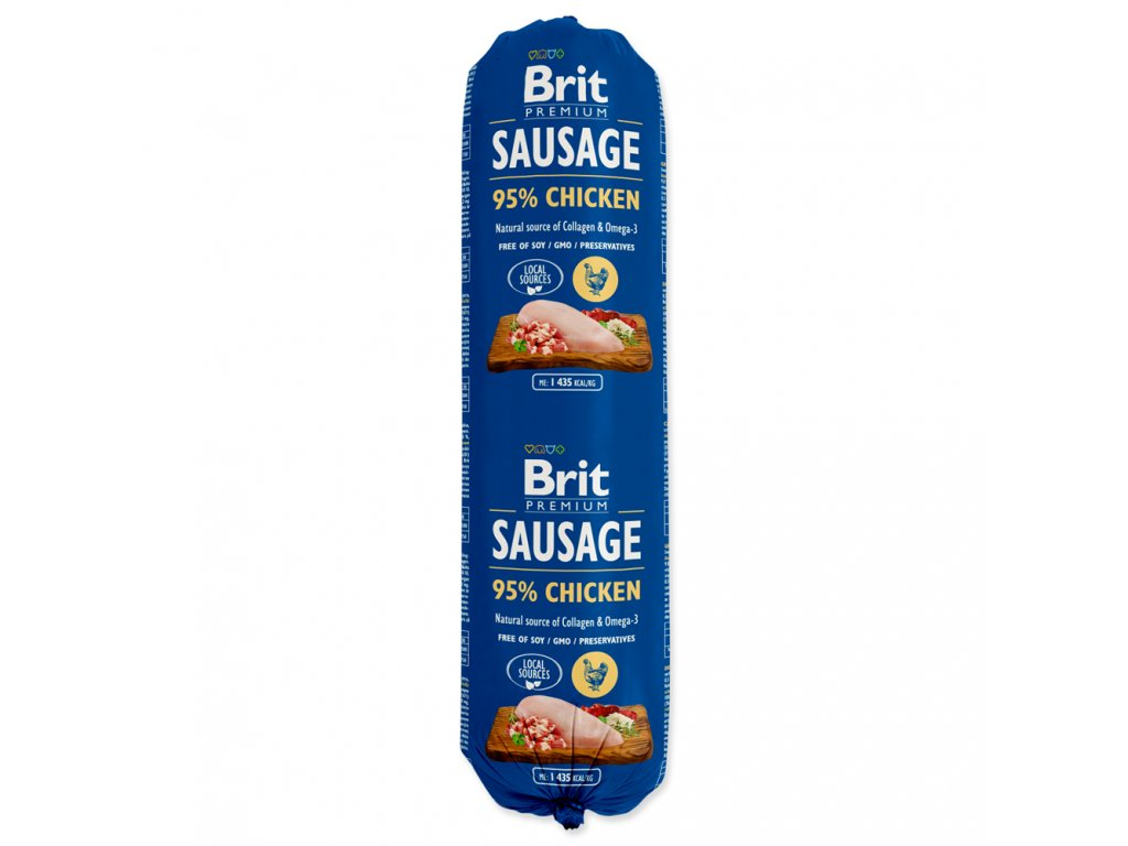 Salám BRIT Premium Dog Sausage Chicken