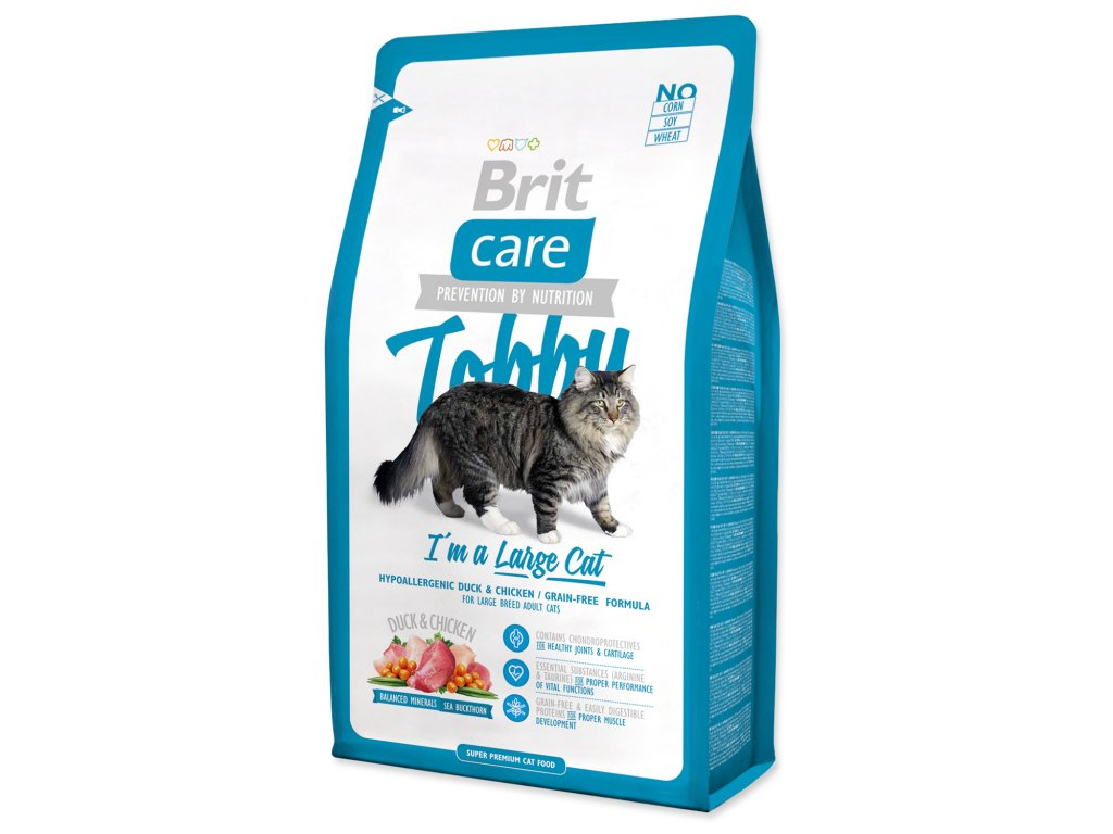 BRIT Care Cat Tobby I´m a Large Cat