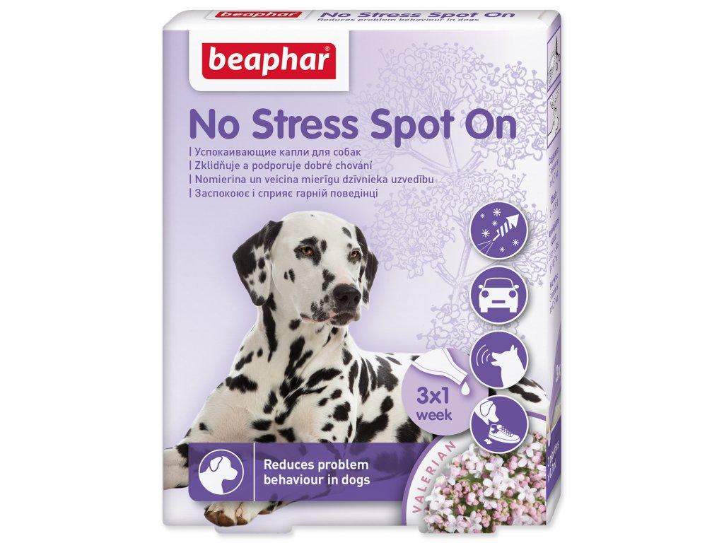 BEAPHAR No Stress Spot On pro psy 2,1 ml