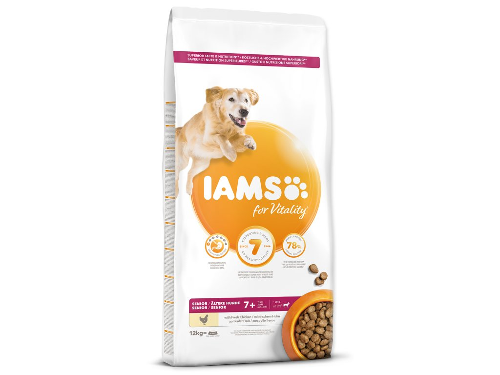 IAMS Dog Senior Large Chicken
