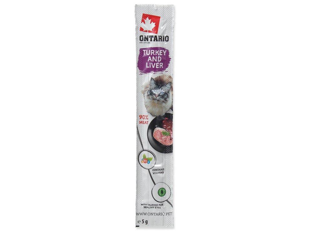 Stick ONTARIO for cats Turkey & Liver 5 g