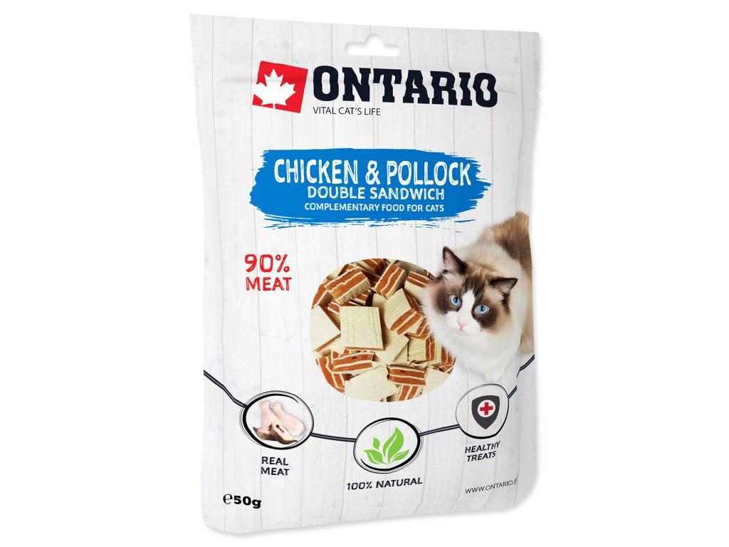 ONTARIO Chicken and Pollock Double Sandwich