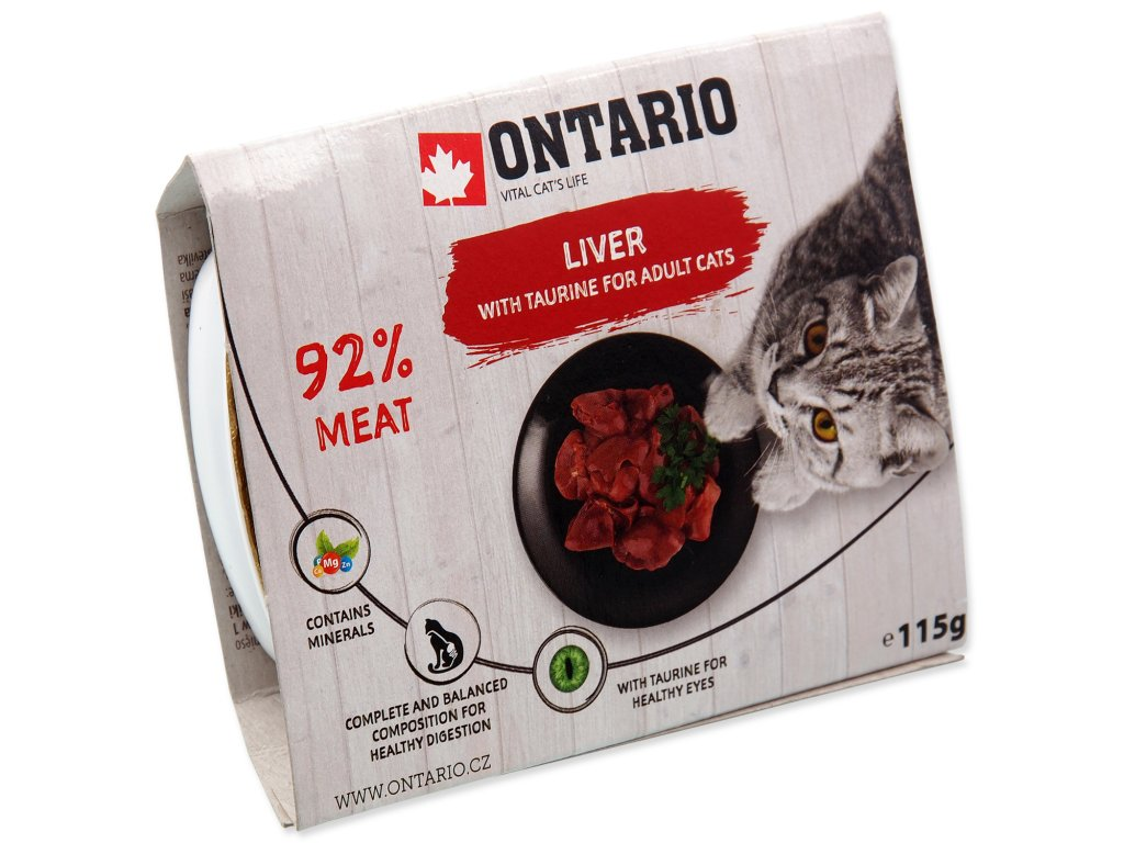 Vanička ONTARIO Cat Liver with Taurine